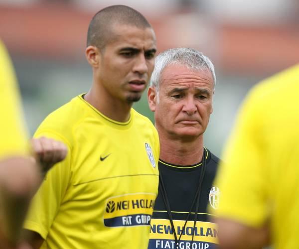 Trezeguet e Ranieri