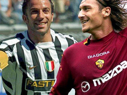 Del Piero e Totti