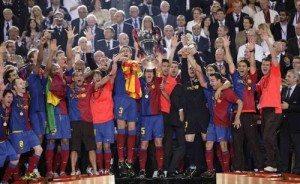 Barcellona Campione d' Europa