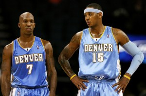 Chauncey Billups e Carmelo Anthony