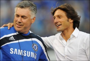 Ancelotti e Leonardo