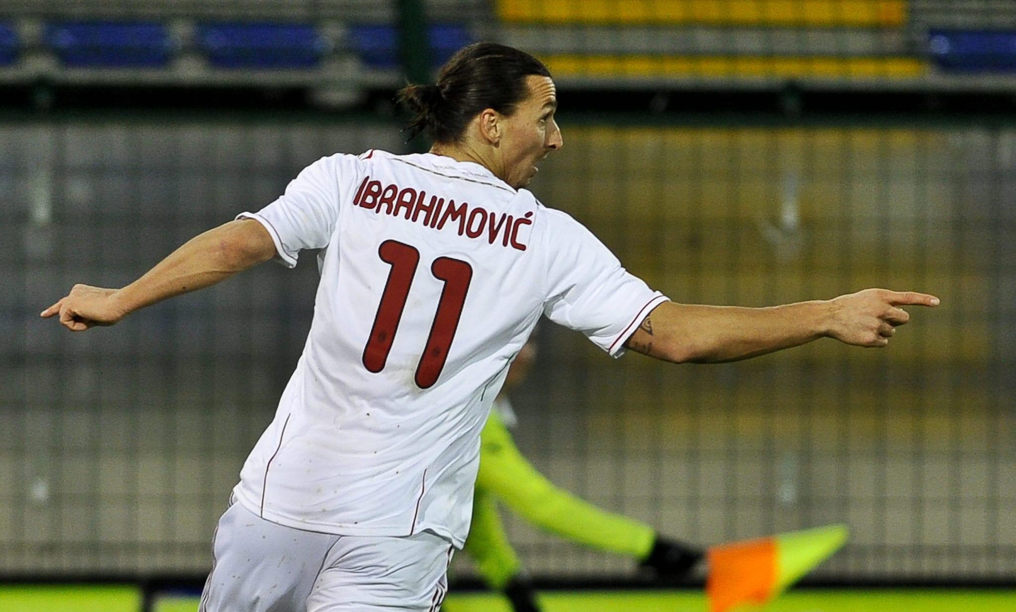 Zlatan Ibrahimovic decide Cagliari Milan | ©Getty Images