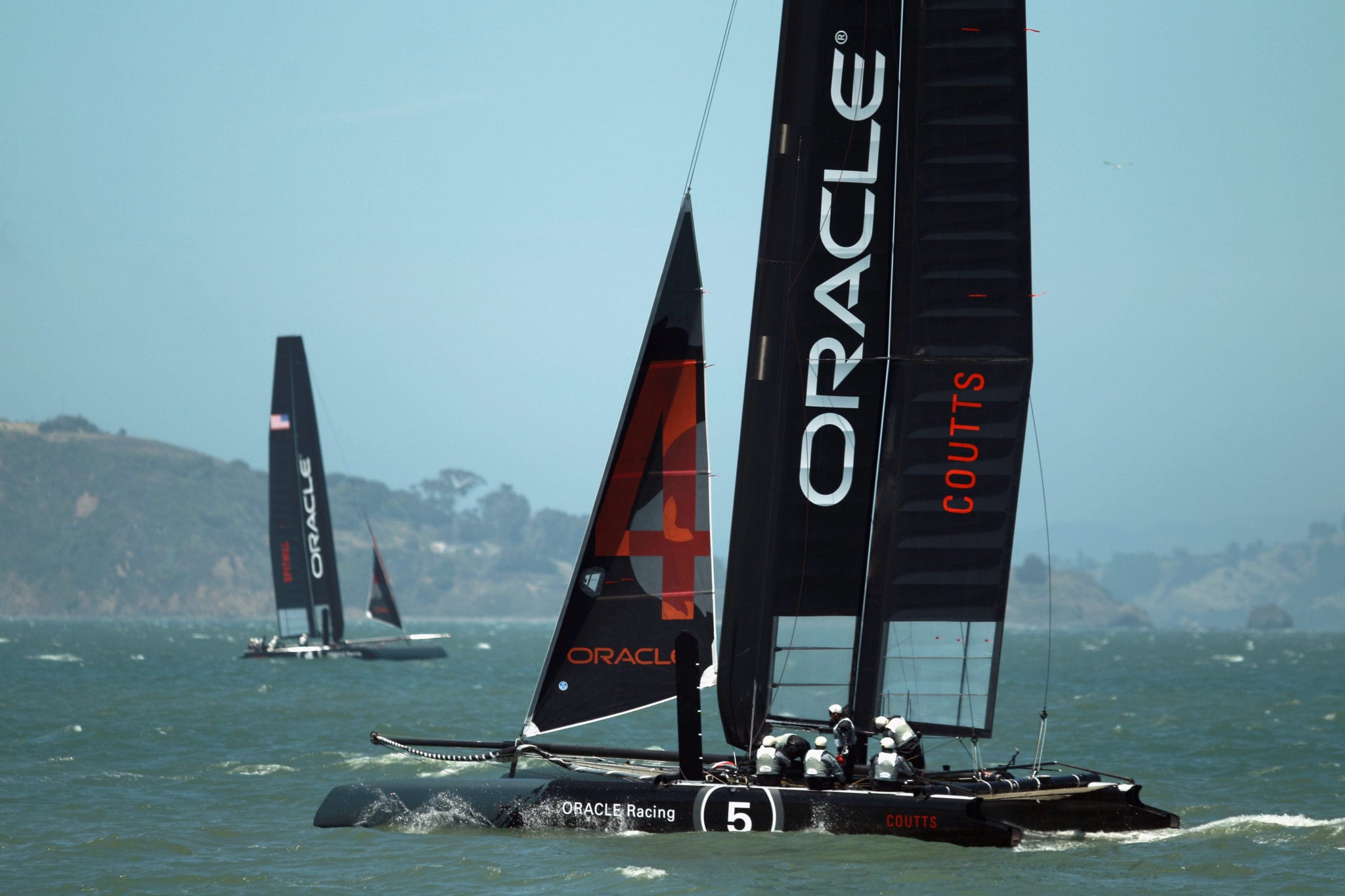 Oracle Team ©Ezra Shaw/Getty Images