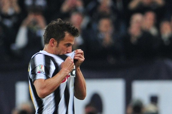 Alessandro Del Piero ©  GIUSEPPE CACACE/AFP/Getty Images