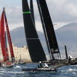 America's Cup World Series imbarcazioni in regata | © CARLO HERMANN/AFP/Getty Images