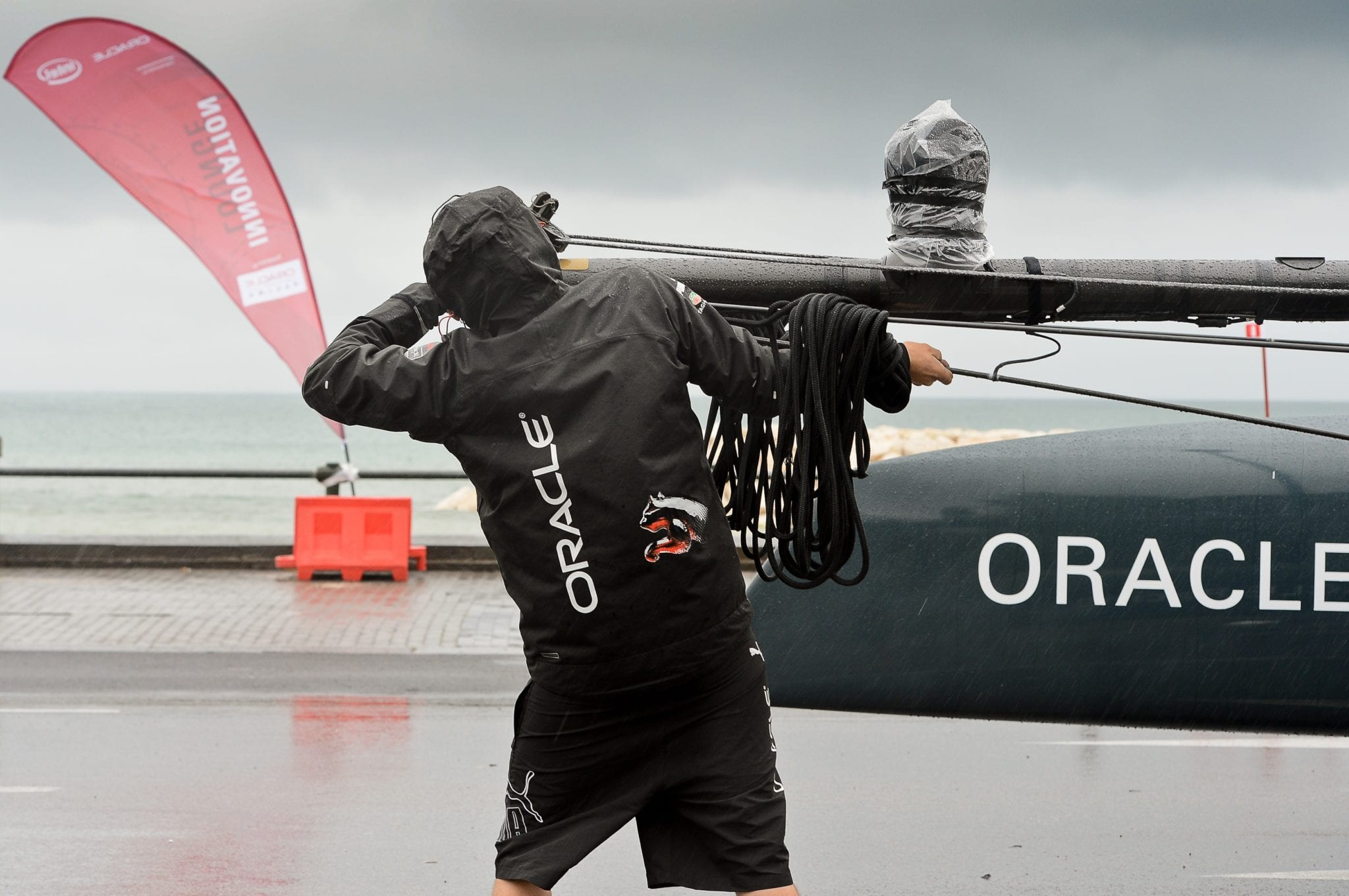 Oracle Racing team, America's Cup © ANDREAS SOLARO/Getty Images