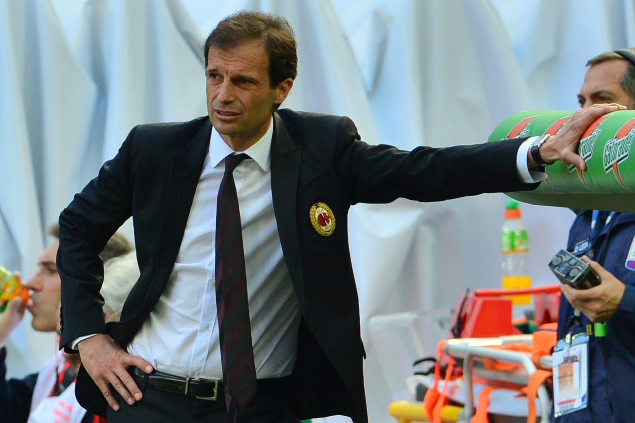 Massimiliano Allegri ©  GIUSEPPE CACACE/AFP/Getty Images