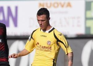 Luca Siligardi, attaccante del Livorno © Maurizio Lagana/Getty Images