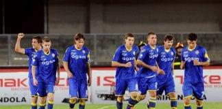 Il Verona esulta