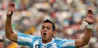 Argentina's midfielder Rogelio Gabriel F