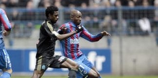 Marseille's Cameroonian defender Nicolas