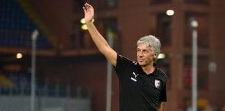 Gian Piero Gasperini Genoa CFC v US Citta di Palermo - Serie A