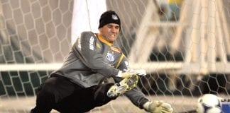 Brazil's Santos FC goalkeeper Rafael Cab