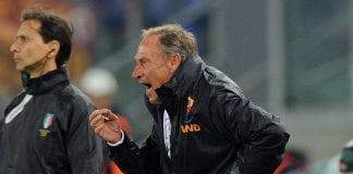 L'allenatore della Roma, Znedek Zeman sempre più in discussione