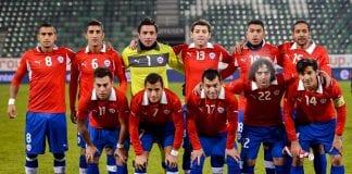 Serbia-Cile FBL-WC2014-CHL-SRB-FRIENDLY