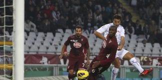 Il gol di El Hamdaoui fissa il risutato di Torino-Fiorentina sul 2-2