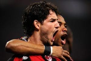 Pato e Robinho sempre più lontani dal Milan | ©OLIVIER MORIN/AFP/Getty Images
