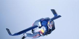 Austrian extremist parachuter Felix Baum
