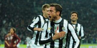 L'esultanza di Claudio Marchisio