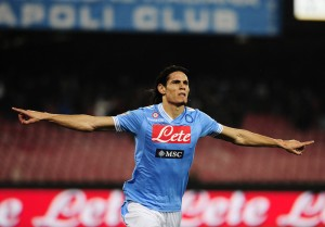 Siena-Napoli, Cavani e la voglia di ripartire della squadra di Mazzarri | ©ROBERTO SALOMONE/AFP/Getty Images