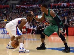 Chris Paul straordinario nella sfida contro i Celtics | ©Harry How/Getty Images