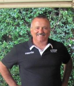 Mister Leopoldo Capurso del Kaos Futsal