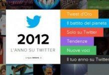 Twitter e il resoconto del 2012