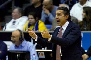 Olimpia Milano sconfitta da Cantù nello storico derby lombardo   ©JACK GUEZ/Getty Images