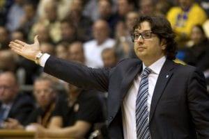 Andrea Trinchieri nuovo coach della Nazionale greca di pallacanestro | ©JACK GUEZ/AFP/Getty Images