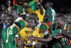 Il trionfo dello Zambia lo scorso anno | ©ISSOUF SANOGO/AFP/Getty Images