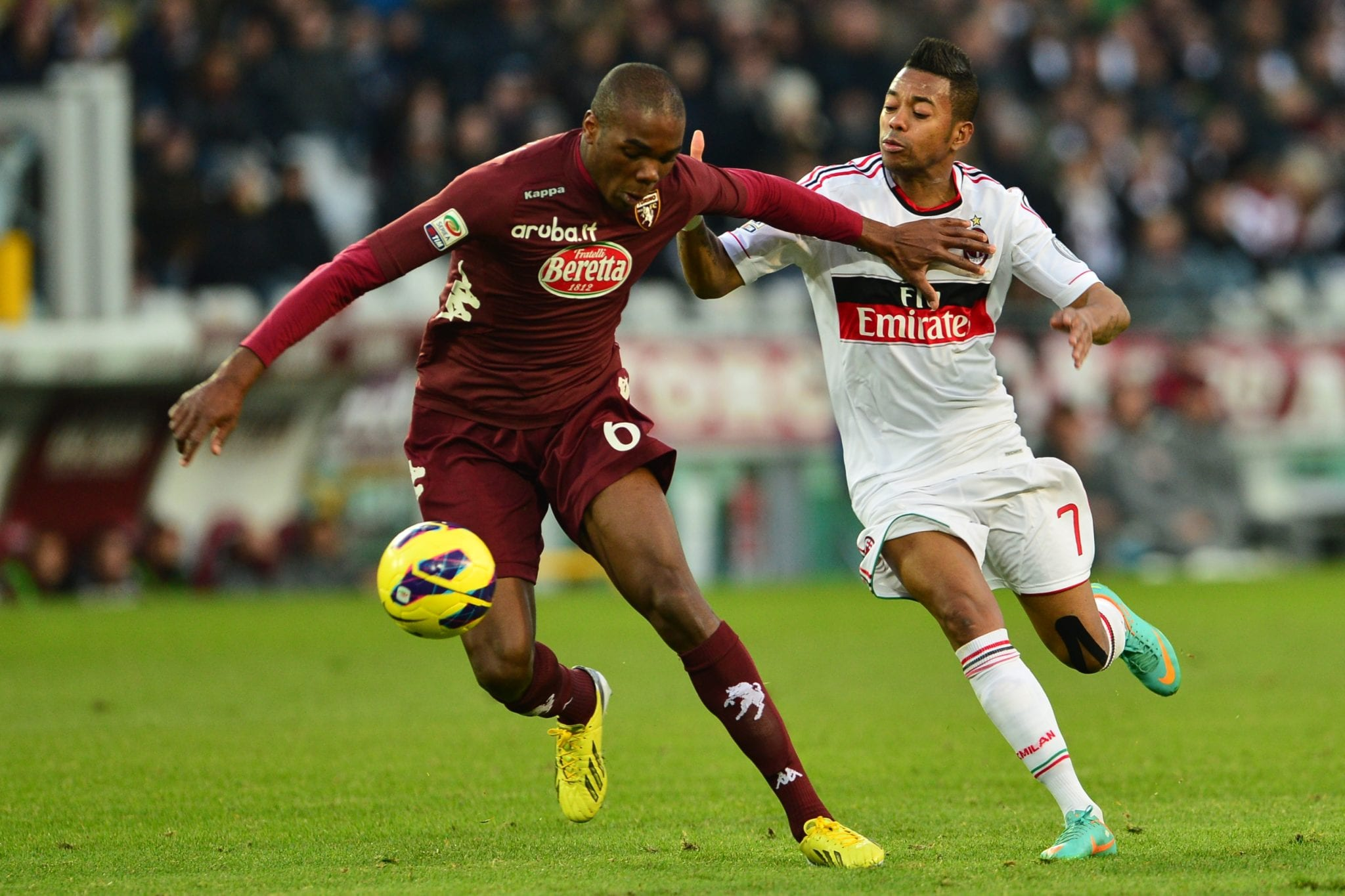 Angelo Ogbonna in azione contro il Milan | ©GIUSEPPE CACACE/AFP/Getty Images