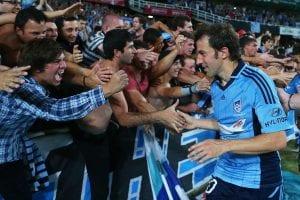 Del Piero saluto i tifosi del Sydney © Brendon Thorne/Getty Images