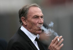 Zdenek Zeman vuole la Coppa Italia | ©MARCELLO PATERNOSTRO/AFP/Getty Images