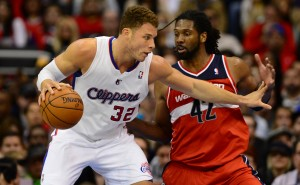Serata difficile per Blake Griffin? | ©FREDERIC J. BROWN/Getty Images