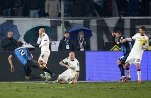 L'azione da gol di Stendardo © Maurizio Lagana/Getty Images