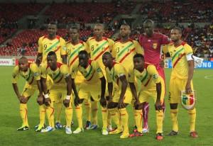 Formazione Mali impegnata nella Coppa d'Africa 2013 &copy Michael Sheehan / Gallo Images