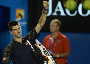 Il serbo Novak Djokovic ©MANAN VATSYAYANA/AFP/Getty Images