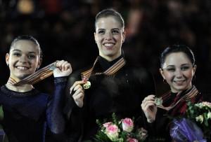 Carolina Koster festeggio il quinto titolo europeo ©ATTILA KISBENEDEK/AFP/Getty Images