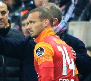 Sneijder e Drogba trasformano il Galatasaray in una superpotenza del calcio europeo | ©MIRA/AFP/Getty Images