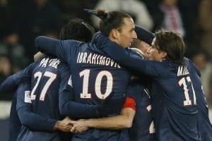 Psg in testa alla Ligue 1, ma il Lione non molla | ©KENZO TRIBOUILLARD/AFP/Getty Images