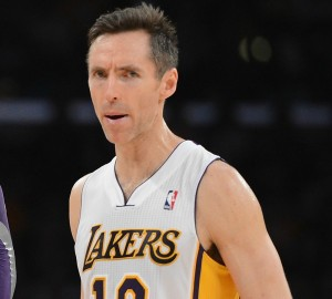 Steve Nash, amaro ritorno a Phoenix con i Lakers | ©Harry How/Getty Images