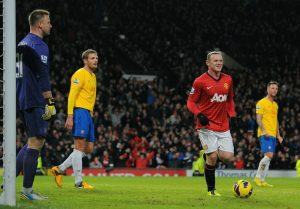Rooney riporta lo United a +7 dal City © ANDREW YATES/AFP/Getty Images