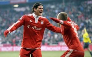 Il Bayern vince ancora ma Robben e Gomez non trovano più spazio   &Copy; AFP/Stringer / Getty Images