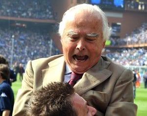 Riccardo Garrone, la Sampdoria piange il suo presidente | © : Massimo Cebrelli/Getty Images Sport