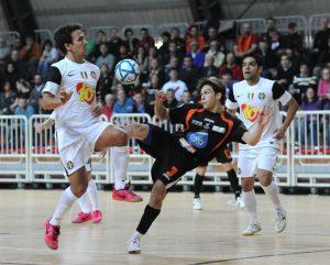 Gabriel Lima capocannoniere in Serie A, in azione, fonte fote/ Dvisione Calcio a 5