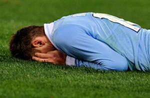 Con l'infortunio di Klose la Lazio saluto scudetto e terzo posto? © TIZIANA FABI/AFP/Getty Images