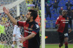 Sau, guiderà anche contro il Toro l'attacco del Cagliari © Enrico Locci/Getty Images