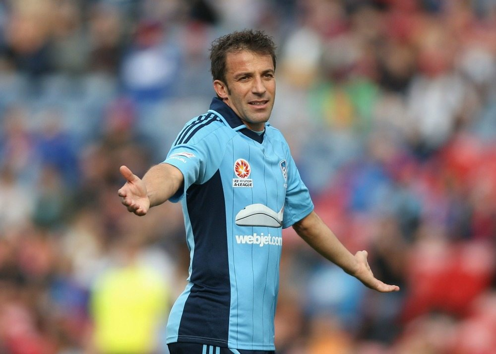 Alex Del Piero raggiunge la doppia cifra © Tony Feder/Getty Images