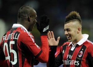 Prandelli si affida alla coppia El Shaarawy-Balotelli © Claudio Villa/Getty Images