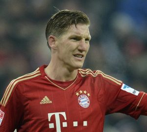 L'autore di uno dei quattro gol del Bayern: Bastian Schweinsteiger | © CHRISTOF STACHE/Staff / Getty Images